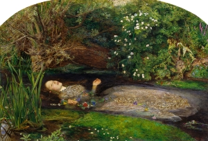 http://en.wikipedia.org/wiki/Ophelia_(painting)